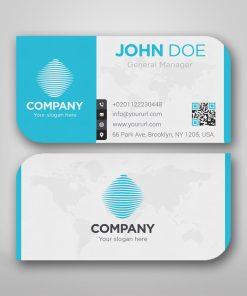 custom business card shape