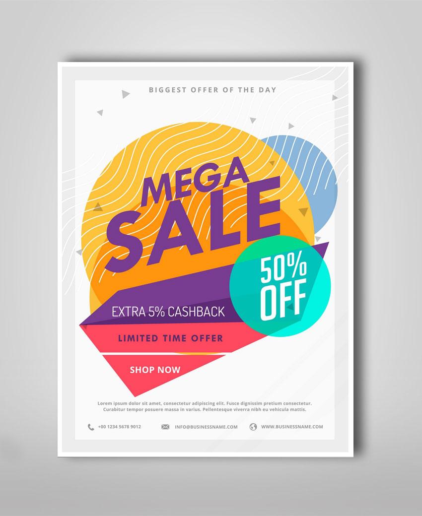 sale poster design alprints