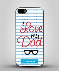 Love My Dad Mobile Cover - Alprints