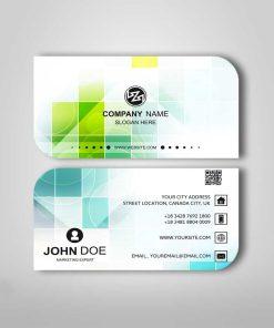 leaf card design