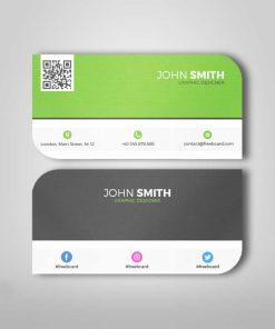 leaf card printing