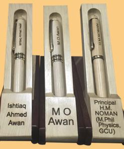 Wooden Name Engraved Pen by alprints.com