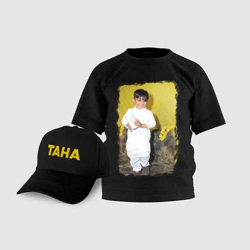 Kids T-Shirt Cap